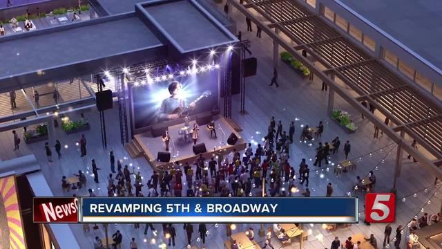 Construction Begins In Nashville On Fifth - Broadway