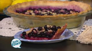 Sallie Swor's Blueberry Ginger Pie Recipe