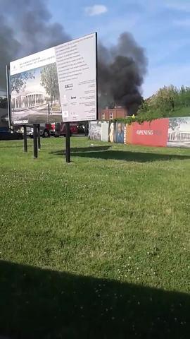 Truck Fire Stalls Traffic On Jefferson Street
