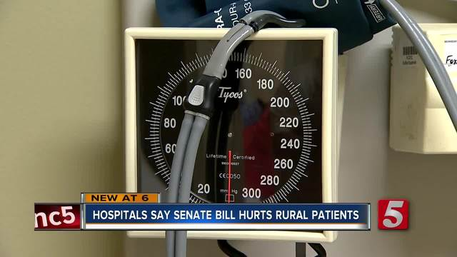 Rural Hospitals In Jeopardy If Senate Healthcare Bill Passes