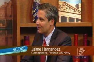 SCORE on Business: Jaime Hernandez