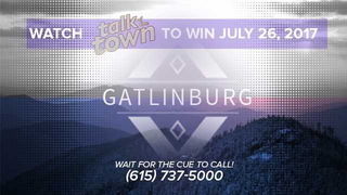 Gatlinburg Department of Tourism Giveaway