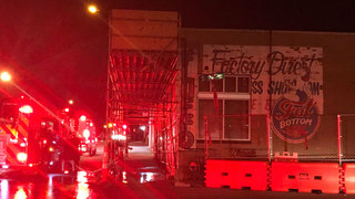 Fire Breaks Out At Former Nashville Brewery
