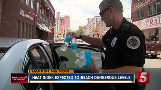 Heat Index Expected To Reach Dangerous Levels