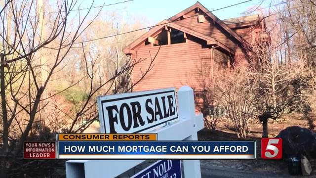 How Much Mortgage Can You Afford-