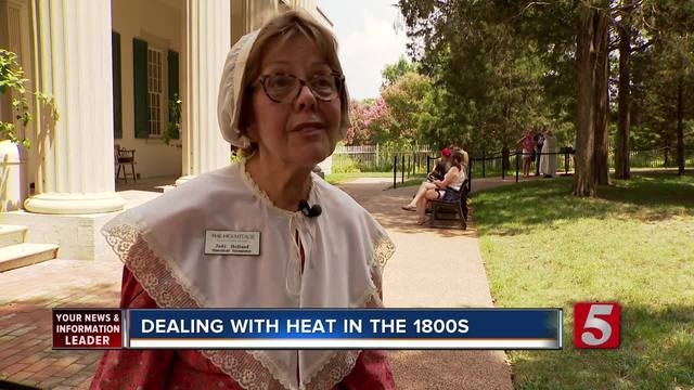 Historical Interpreters Brave The Heat In The Name Of History