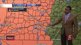 Lelan's Forecast: Friday, July 21, 2017