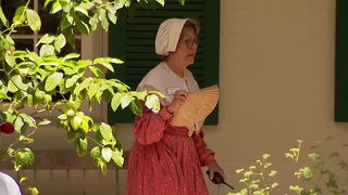 Historical Interpreters Brave The Heat