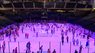 Bridgestone Holds Glow In The Dark Skate