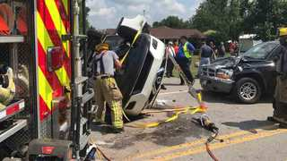 Several Injured, 1 Wanted After Columbia Crash