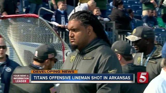 Titans Player Injured When Grazed By Bullet