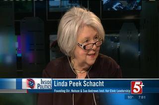 Inside Politics: Linda Peek Schacht