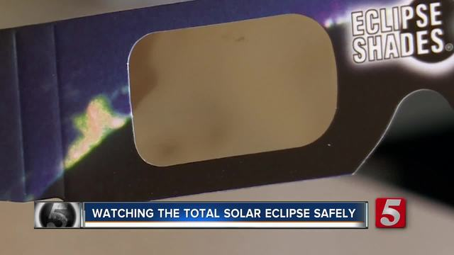 Doctors Warn Eclipse Viewers To Use Proper Equipment- Protect Eyes From…