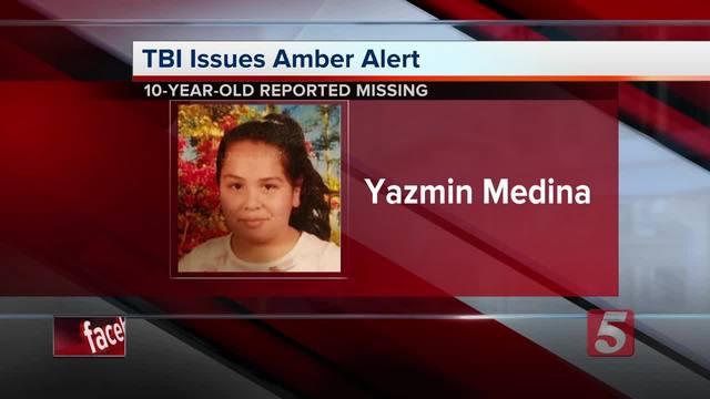 Amber Alert Issued For Missing East Tenn- Girl