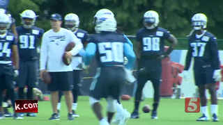 Defense Rules First Day In Pads