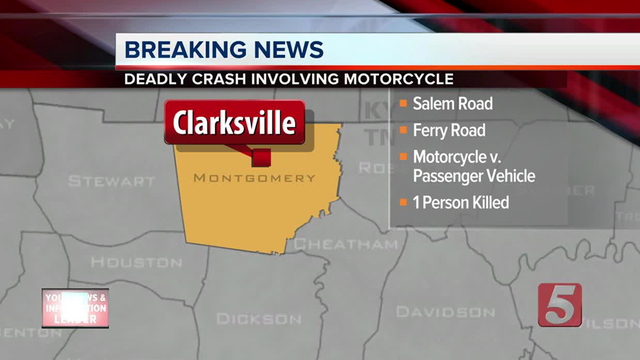 Motorcyclist run over by auto, killed on United States 95