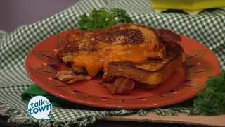 Bourbon Bacon Grilled Cheese Sandwiches