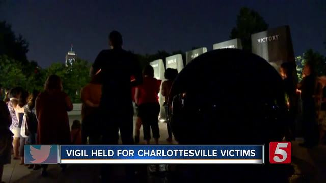Fresnans hold vigil in light of Charlottesville violence