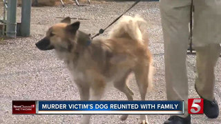 Family Reunites With Dog After Owner's Murder