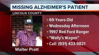 Lincoln Co. Man With Alzheimer's Found In Ark.
