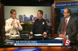 MorningLine: Murfreesboro Police Department...