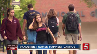 Vandy Students Are 'Happiest' In The Country