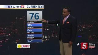 Storm 5 Weather Forecast: Fri, August 18, 2017