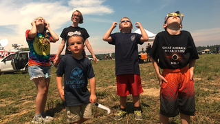 Eclipse Left Many Captivated In Hopkinsville