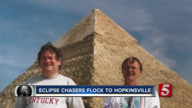 Eclipse Chasers Flock To Hopkinsville- Kentucky