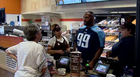 Tennessee Titans Take Over Dunkin' Donuts
