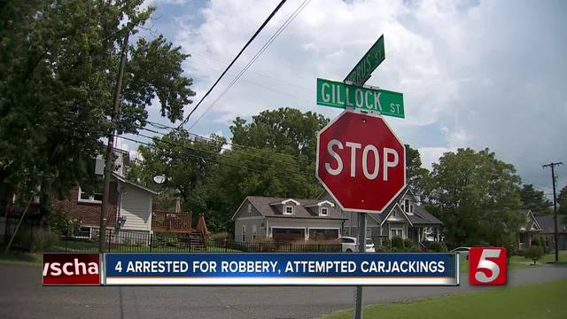 Group Arrested For Robbery- 3 Attempted Carjackings In 20 Minutes