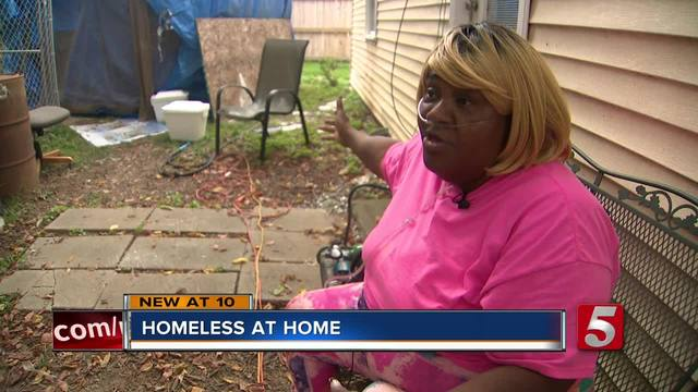 Woman Living In Tent After House Fire Last Year
