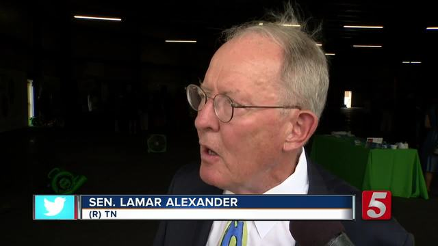 Sen- Alexander Pushes For Removal Of Bust