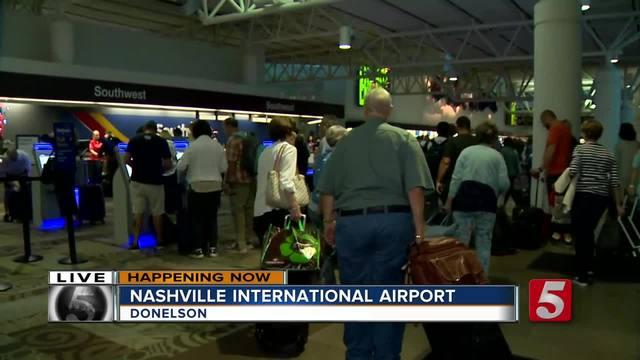 Thousands To Depart Nashville After Eclipse