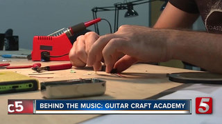 Guitar Craft Academy Helps Master Tech Trades