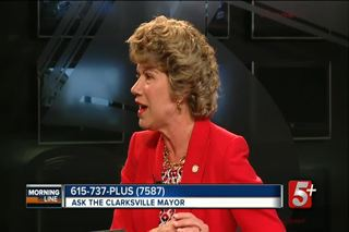 MorningLine- Mayor Kim McMillan