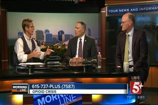MorningLine- Opioid Crisis and Legislation