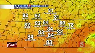 Lelan's Forecast: Wednesday, August 23, 2017