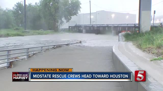 Red Cross volunteers from western NC head to help flooded Houston