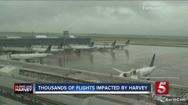 Harvey alters airline schedules - check your flights