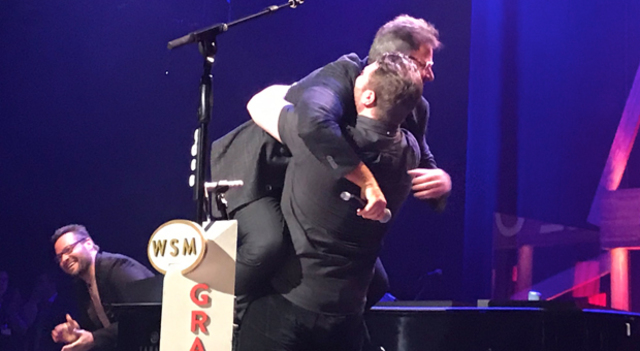 Chris Young Surprised On Stage With Invite To Join Grand Ole Opry