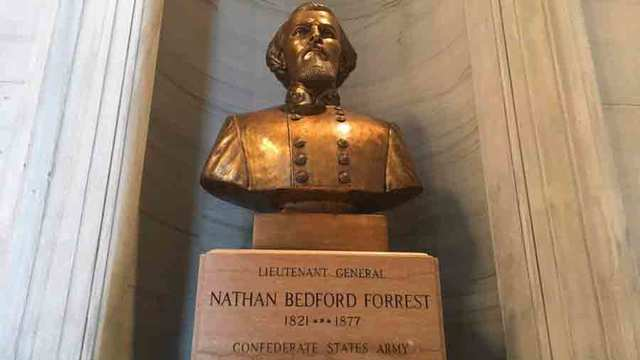 Tennessee Panel Axes Bid to Move Confederate's Bust from Capitol