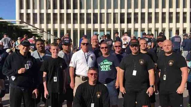 Hundreds of firefighters climb to remember 9/11 heroes