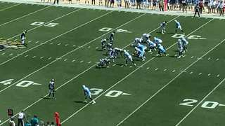 Inside Titans' TD Run Vs. Jags