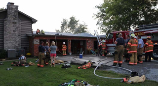 Wilson Co. Home Damaged In Fire