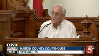 Zach Adams' Grandfather Testifies In Bobo Trial