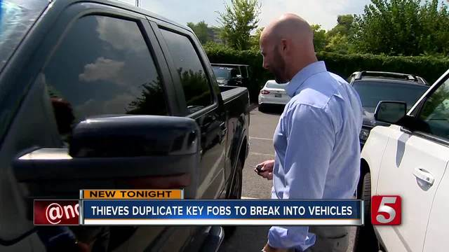 Thieves Duplicating Key Fobs To Break Into Cars
