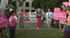 Activists Protest Graham-Cassidy Healthcare Bill