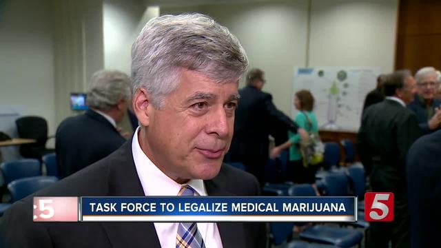 Medical Marijuana Task Force Holds 1st Meeting