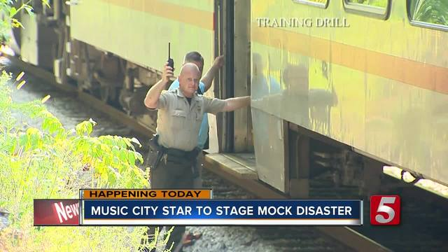 Music City Star To Have Mock Disaster Drill Thursday